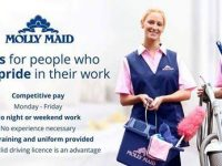 Molly Maids recruiting for Route Manager
