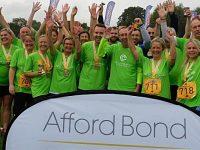 Nantwich firm Afford Bond helps raise £4,500 at Triathlon