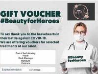 "Nantwich beautician joins ""Beauty for Heroes"" scheme to reward key workers"