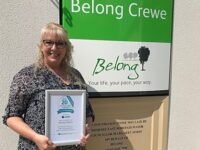 Top honour for Belong at Home in Crewe for third year running