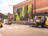 "Bentley Motors installs ""living wall"" at Crewe headquarters"