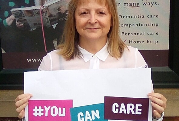 Care supervisor, Linda Taylor, from Home Instead Senior Care Crewe. (1)