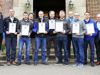 Milking parlour experts graduate from Reaseheath College course
