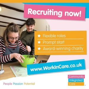 Community Integrated Care are recruiting! (1)