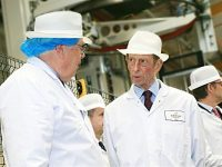 Mornflake welcomes Royal visitor to launch new Innovation Centre