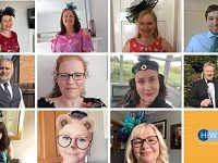 "Howard Worth ""dress up"" for work day raises NHS charities cash"