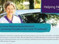 Helping Hands Home Care to stage Nantwich recruitment event