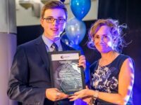 Cheshire College learner in driving seat with apprenticeship