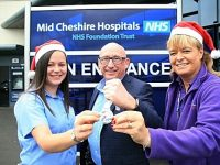 Baby appeal wins support from Crewe firm for Merry Mile fundraiser