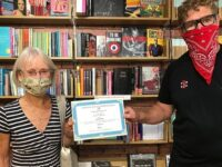 """Nantwich Bookshop receives """"Local Hero"""" certificate from WI"""