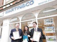 Martin&Co estate agent in Nantwich one of best in UK
