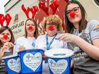 Mornflake teams up with St Luke's Hospice for festive fundraisers