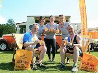 Mornflake helps spur on hundreds at Nantwich triathlon event