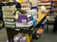 Nantwich Foodbank boosted by homebuilder donation