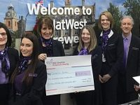 Natwest staff in Crewe raise funds for Mid Cheshire Hospitals Charity