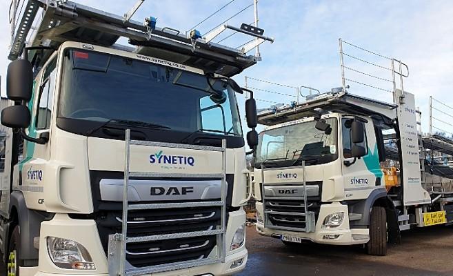 SYNETIQ new vehicle fleet