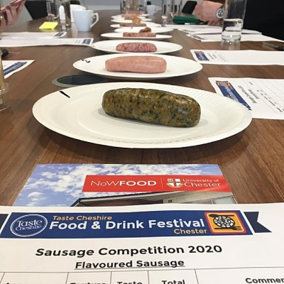 Taste Cheshire Sausage Judging 2020-5 (1)