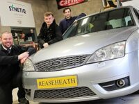 Reaseheath College students boost from car recycler SYNETIQ