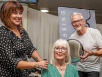 Nantwich hairdressers heads up on style at Hough and District WI
