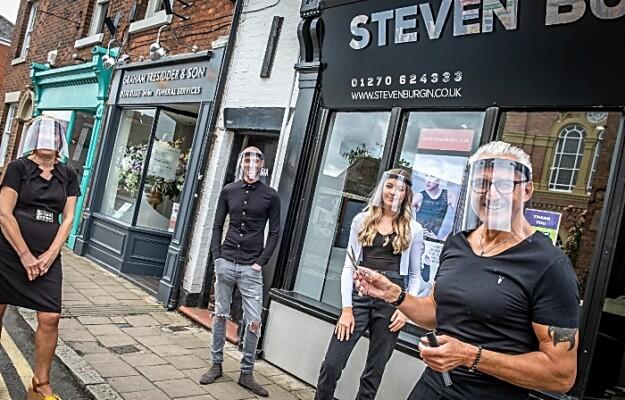 Steve Burgin - hair salon