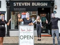 Nantwich salon re-opens from lockdown to celebrate 20th anniversary