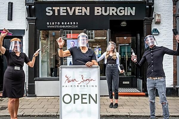 Steven Burgin hair salon in Nantwich