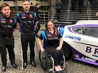 Nantwich vehicle firm backs Team BRIT drivers academy