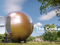 New business in Nantwich builds spherical building The Conker