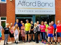 Afford Bond staff to tackle Nantwich Triathlon for two charities