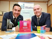 Nantwich mortgage firm Watts scoops hat-trick of awards