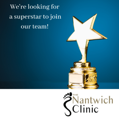 Podiatry Assistant Practitioner Nantwich Clinic - job advert