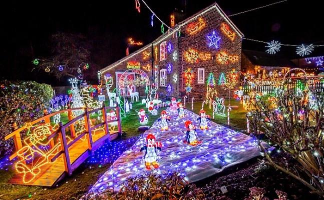 Weston christmas lights - Graham Witter