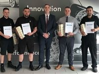 Crewe Volkswagen celebrates aftersales team accreditation
