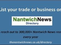 Add your South Cheshire job vacancies here