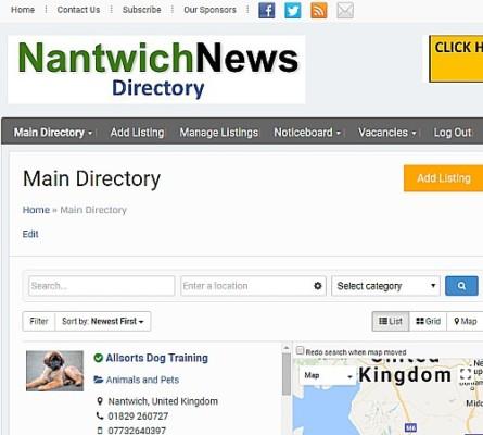 directory screen grab