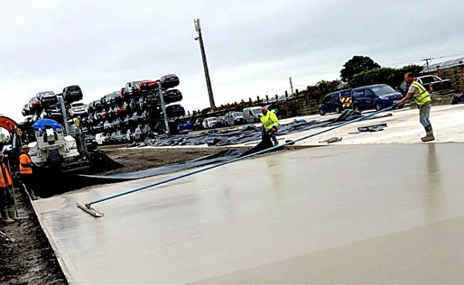 groundworks firm to work for SYNETIQ