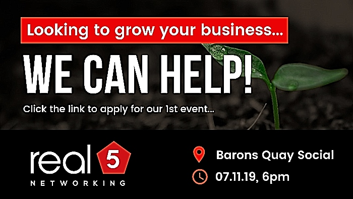looking to grow your business - real5 Networking