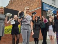 Solicitors take on Midnight Walk challenge for St Luke's Hospice