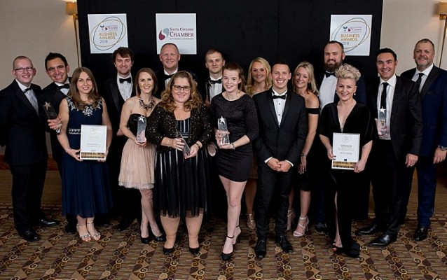winners of 2018 chamber business awards