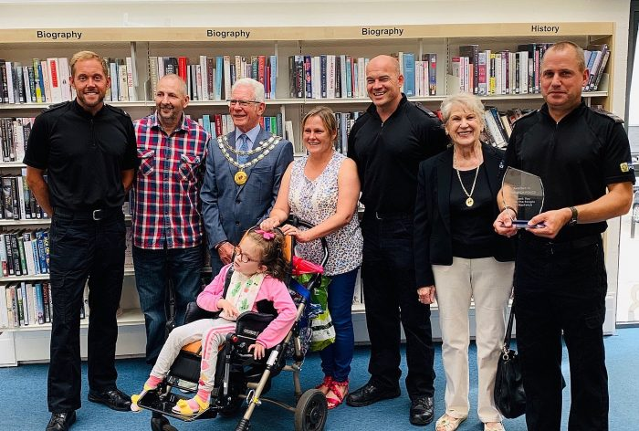 Officers receive community award