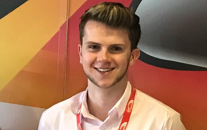 108 Virgin Trains - oliver brady, Nantwich student
