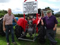 Charity tractor run in Nantwich raises money for Motor Neurone Disease charity