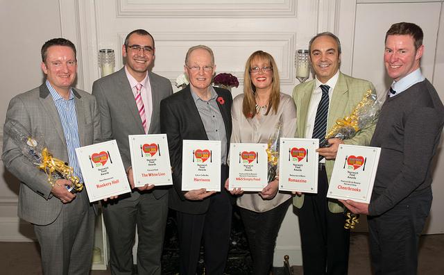 Nantwich Foodies award winners, 2014