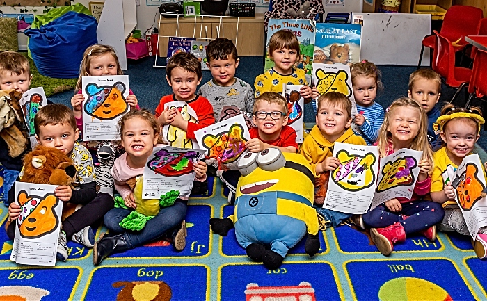 Highfields Children in Need fundraising