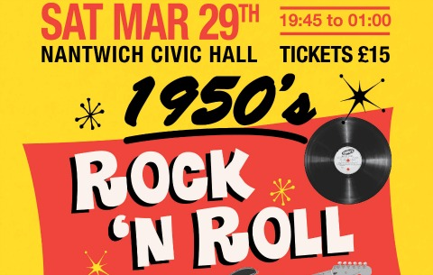 Nantwich Civic Hall to host 50s night for Wingate Centre