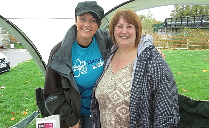 Suzie Hallsworth; a Crewe PCSO and Dawn Sime; co-owner of Home Instead Senior Care Crewe. (1)