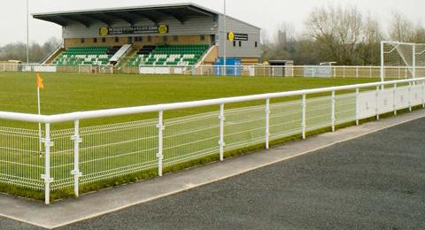Blyth FA Cup - Nantwich Town's Weaver Stadium, pre-season games, community football