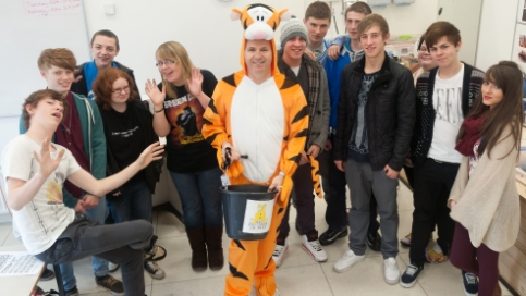 Crewe and Nantwich schools and colleges raise Children in Need funds