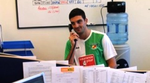 ITV focus on Nantwich Town defender Mat Bailey
