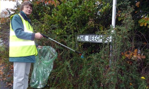 Plea issued for more Nantwich Litter Group helpers